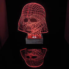 "Star Wars ""Darth Vader"" Lamp"