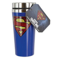 Superman Travel Mug Logo