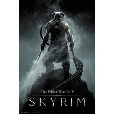 Skyrim Poster The Elder