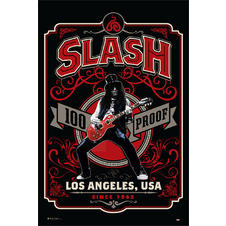 Slash Poster Whiskey Label