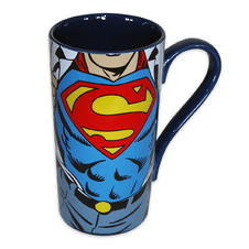 Superman Logo Latte Tasse XL