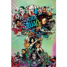 Suicide Squad Poster One Sheet