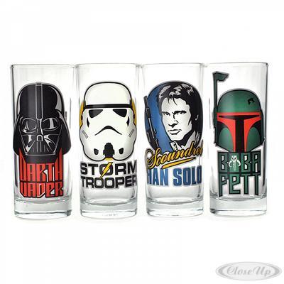 Star Wars Gläserset Charaktere