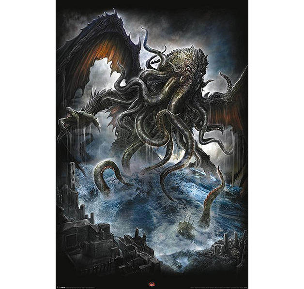 spiral poster cthulhu bei close up g nstig online bestellen. Black Bedroom Furniture Sets. Home Design Ideas