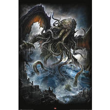Spiral Poster Cthulhu