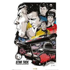 Star Trek Poster Boldly Go