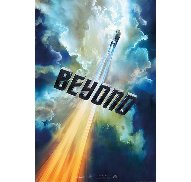 Star Trek Beyond Poster Clouds