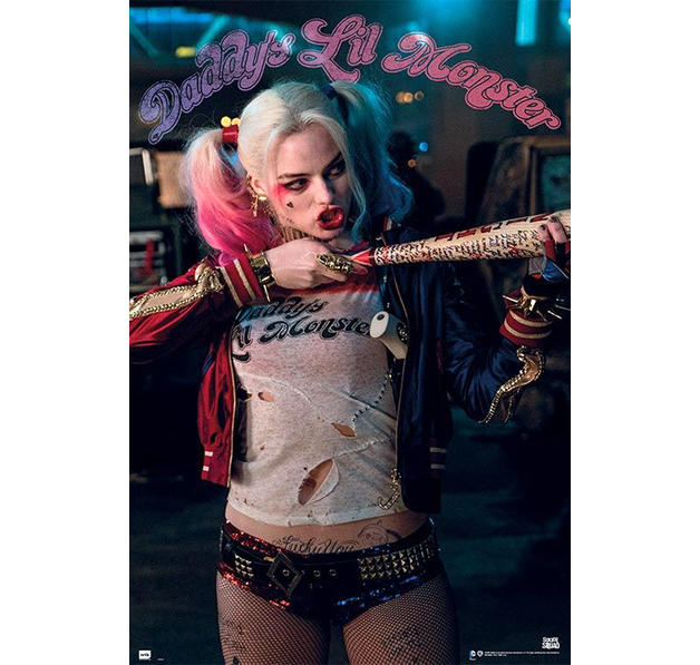 Suicide Squad Poster Harley