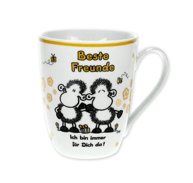 Sheepworld Tasse Beste Freunde