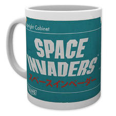 Space Invaders Mug - Diagram