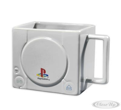 Sony Playstation Tasse 3D Konsole