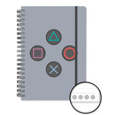 Sony Playstation Notizbuch