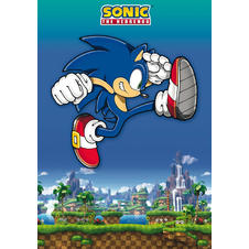 Sonic The Hedgehog Poster -