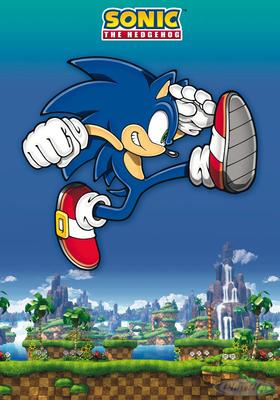 Sonic the Hedgehog Poster Sonic