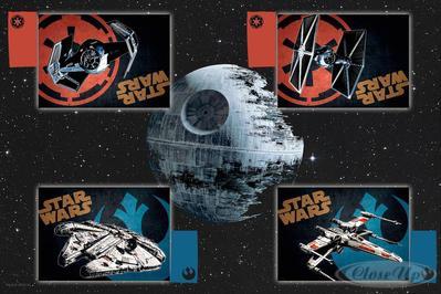 Star Wars Deluxe Tischset 9-teilig