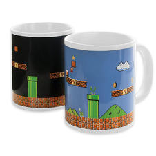 Super Mario Thermoeffekt Tasse