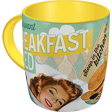 "Say it 50's Tasse ""BREAKFAST"