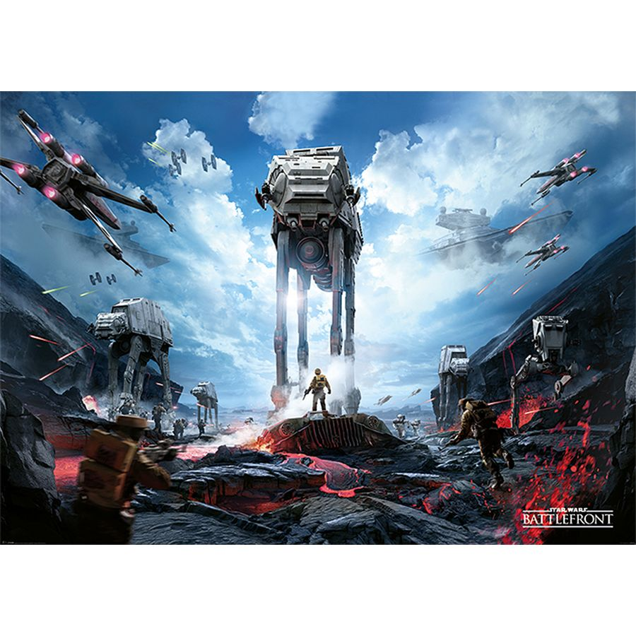 star wars xxl poster battlefront xxl poster jetzt im shop bestellen close up gmbh. Black Bedroom Furniture Sets. Home Design Ideas
