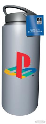 Sony Playstation Alu- Trinkflasche Buttons