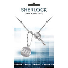 Sherlock Dog Tag