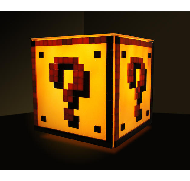 Super Mario Desk Lamp