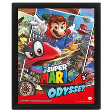 Super Mario Odyssey 3D- Poster