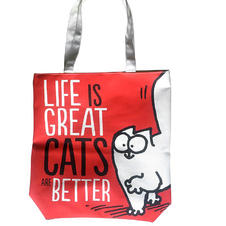 Simon's Cat Shopper Tasche