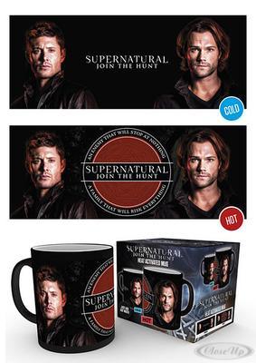 Supernatural Join The Hunt Thermoeffekt Tasse jetztbilligerkaufen