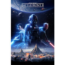 Star Wars Battlefront 2 Poster