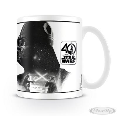 Star Wars 40th Anniversary Tasse Darth Vader - broschei