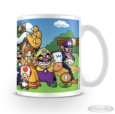 Super Mario Tasse Characters - broschei