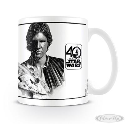 Star Wars 40th Anniversary Tasse Han Solo - broschei
