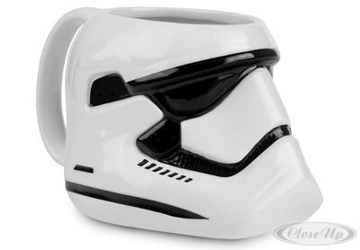 Star Wars Tasse Stormtrooper 3-D Tasse, Shaped Mug - broschei