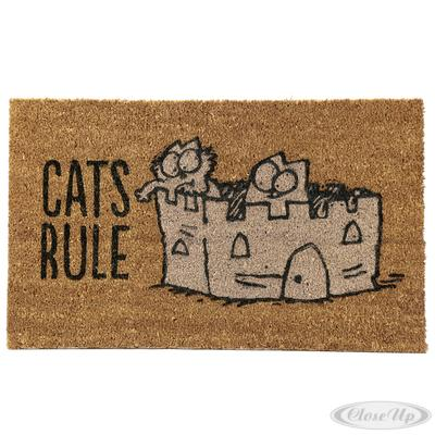 Simon´s Cat Fußmatte CATS RULE jetztbilligerkaufen