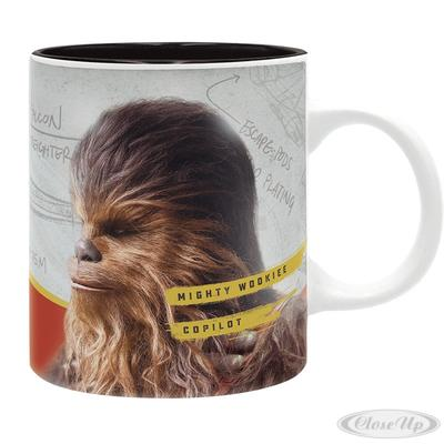 Star Wars Tasse Solo Chewie Mighty Wookiee Copilot