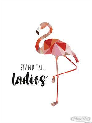 Stand Tall Ladies Kunstdruck Janette