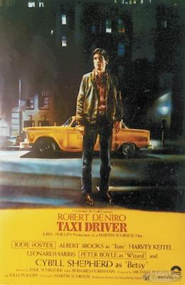 Taxi Driver Poster yellow Taxi