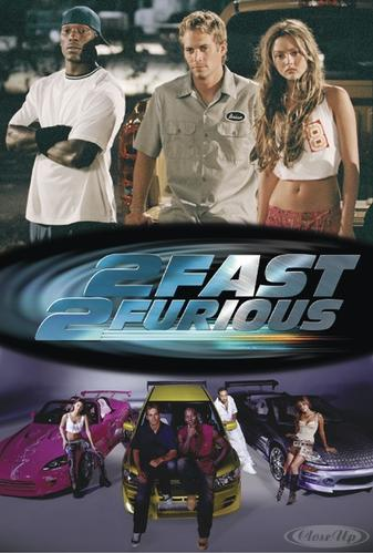 The Fast And The Furious 2 Poster Collage