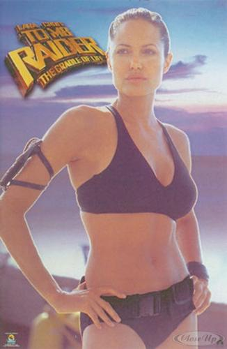 Tomb Raider Lara Croft - the - Cradle of Life Poster