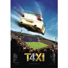 Taxi 4 Poster