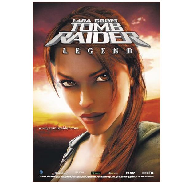 Tomb Raider Legend Poster