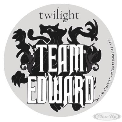 Twilight Sticker Team Edward