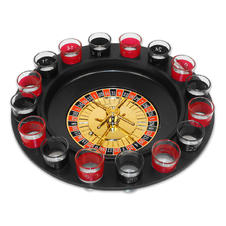 SHOTGLASS ROULETTE DRINKING GAME