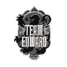 Twilight Team Edward Pin