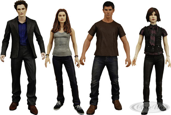 Twilight new Moon Actionfigurenset