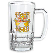 THE SIMPSONS BEER MUG HOMER HAVE NO FEAR, HAVE A BEER!