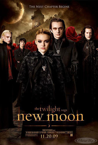 Twilight New Moon Poster Jane, Caius, Bower, Volturi