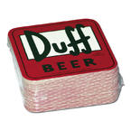 THE SIMPSONS COASTERS DUFF