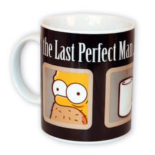 THE SIMPSONS MUG THE LAST