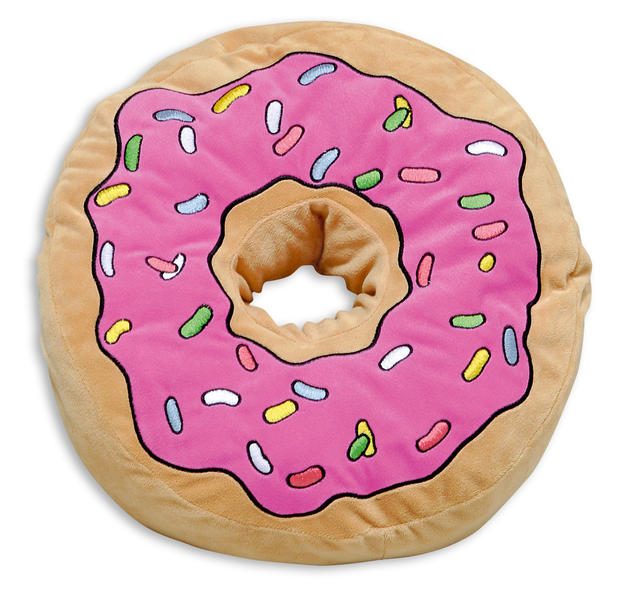The Simpsons Pillow Donut